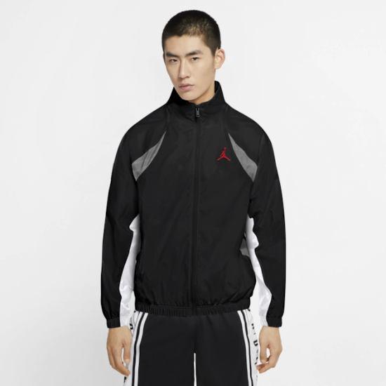【送料無料+P3倍+クーポン】nike ナイキ 【メンズサイズ】 ジョーダン Jordan Retro 11 Legacy Lightweight Jacket(Black/University Red) ジャケット アウター ジャンパー