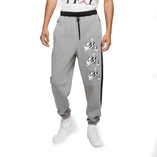 【送料無料+P3倍+クーポン】nike ナイキ ジョーダン 【メンズサイズ】 Jordan Jumpman Classics Fleece Jogger Pants(Grey) スウェットパンツ ジョガーパンツ ボトム