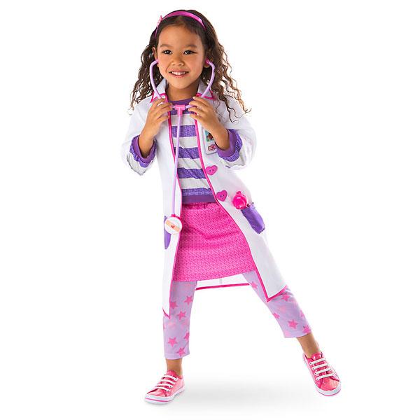 Disney ディズニー Doc McStuffins 85-135cmサイズ 女の子用ドックはおもちゃドクターなりきりコスチューム6点セット コスプレ ハロウィン ハロウィーン Halloween 衣装 変装 【ラ・クーポンで送料無料】【楽ギフ_包装選択】