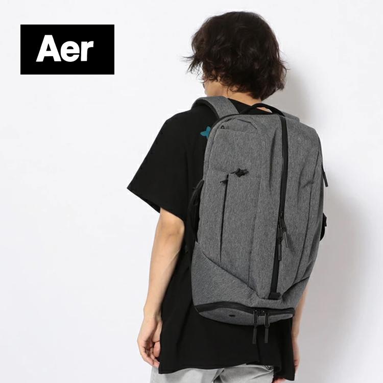 Aer エアー 都市におけるニーズを満たす 耐久性のある高品質のバッグやアクセサリーを創造することを目指す DUFFEL PACK2 ダッフルパック2 グレー レディース ジム メンズ 正規激安 商い 通学 リュック 通勤