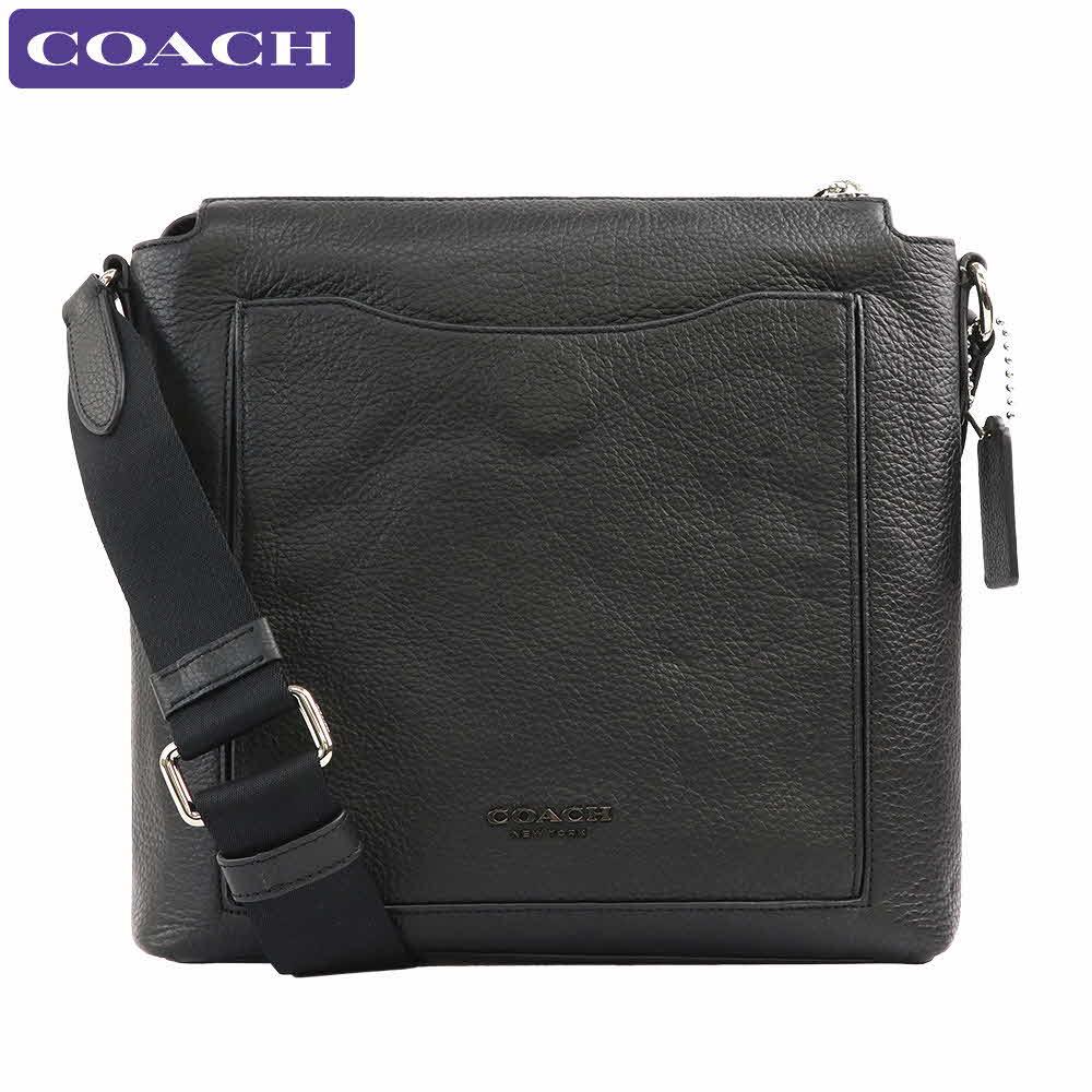 コーチ COACH バッグ ショルダーバッグ 91303 NIBLK ペブルドレザー アウトレット メンズ 新作 ギフト プレゼント