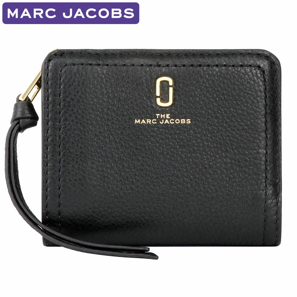 マークジェイコブス MARC JACOBS 財布 二つ折り財布 M0015122 001 ミニ財布 レディース ウォレット 新作 ギフト プレゼント