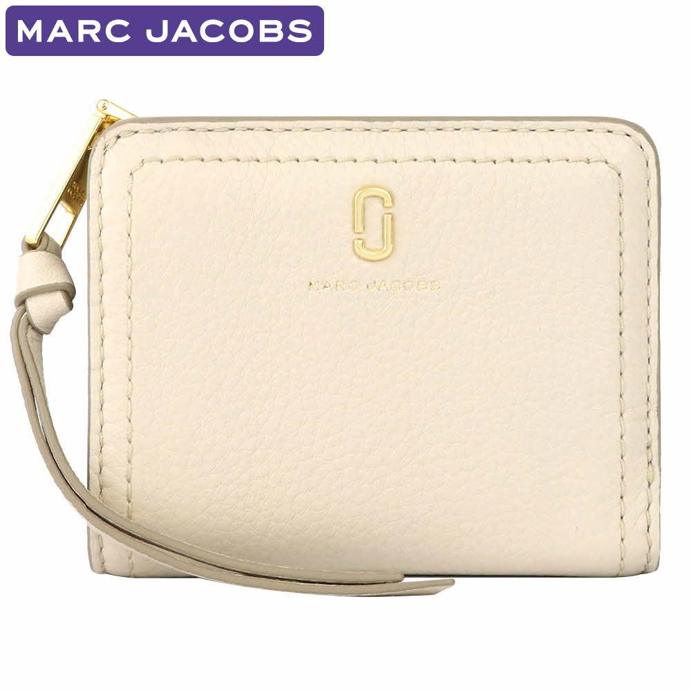 マークジェイコブス MARC JACOBS 財布 二つ折り財布 M0015122 106 ミニ財布 レディース ウォレット 新作 ギフト プレゼント