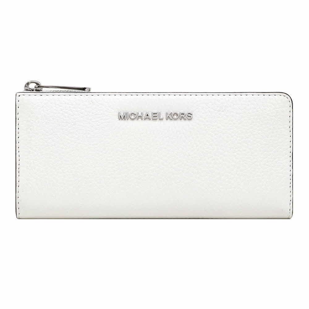 マイケルコース MICHAEL KORS 財布 長財布 35H8STVZ3L OPTIC WHITE L字ファスナー アウトレット レディース ウォレット 新作 ギフト プレゼント