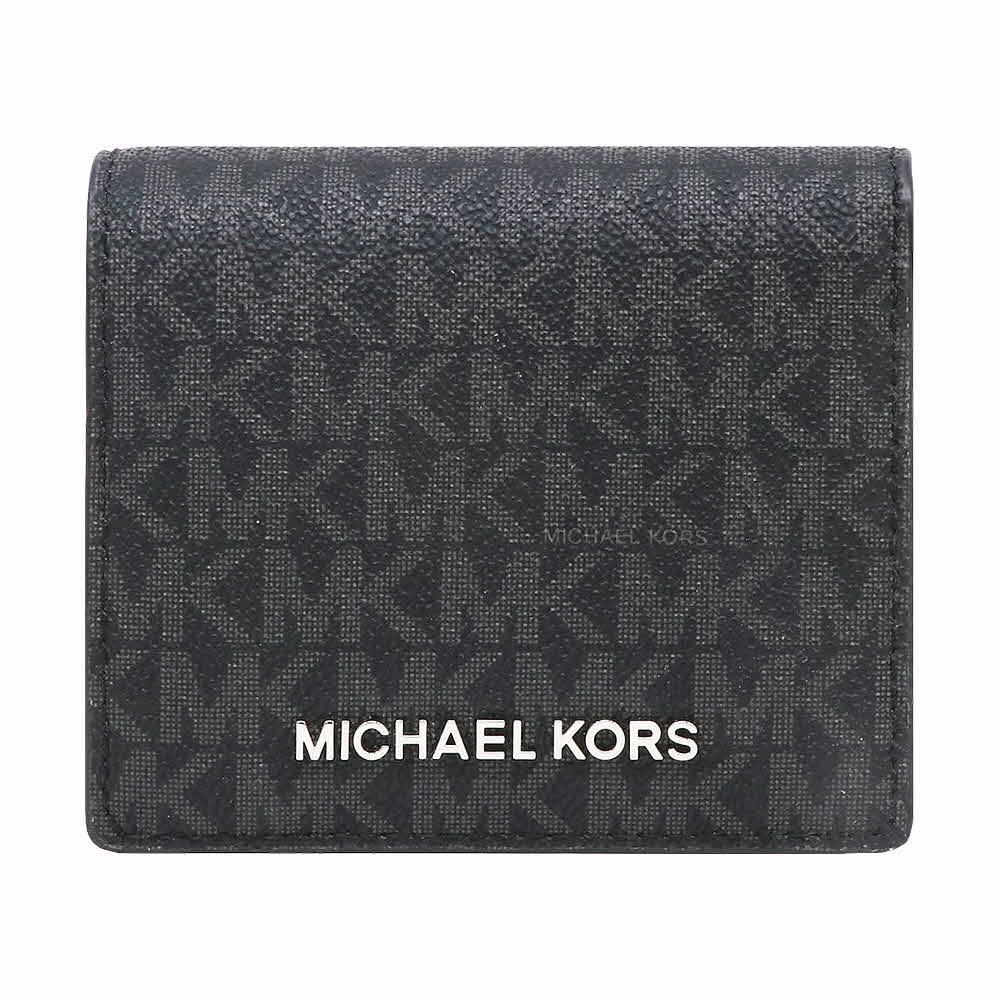 ポイント5倍 マイケルコース MICHAEL KORS 財布 二つ折り財布 35S9STVD2B BLACK ウォレット アウ8mnwvNO0