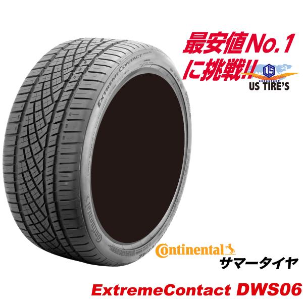 275/35R19 100Y エクストリーム コンタクト DWS06 コンチネンタル タイヤ Continental EXTREME CONTACT DWS 06 275/35ZR19 サマー ラジアル 275-35-19