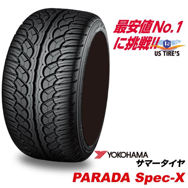 255/45R20 17年製 パラダ スペックX PARADA spec-X PA02 ヨコハマ YOKOHAMA 255/45-20 255/45 20インチ SUV タイヤ サマー