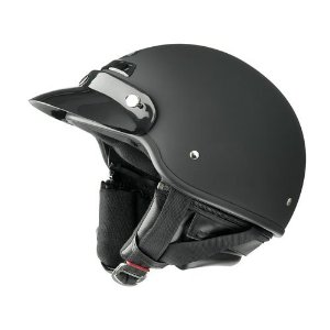 ハーレーダビッドソン、ドラッグスター、シャドー、バルカン等 Raider Deluxe レイダー デラックス ヘルメット Lサイズ マットブラック