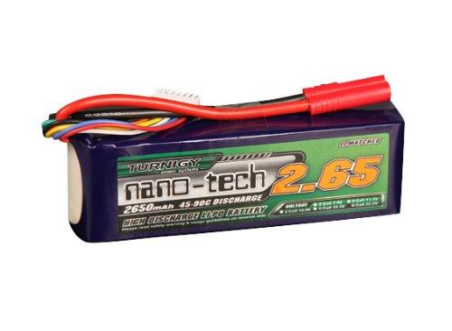 Turnigy nano-tech 2650mah 6S 45-90C
