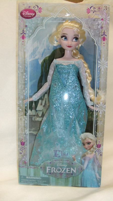 アナと雪の女王 FROZEN エルサ クラッシックドール