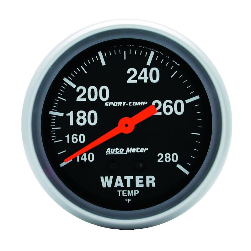 Autometer  オートメーター ウォーターテンプ 水温計 Φ66 3431
