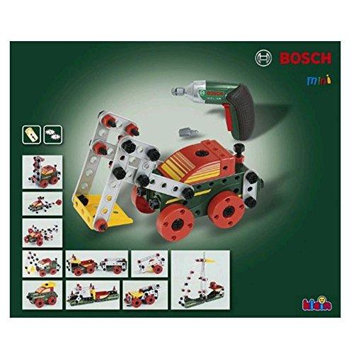 マルチテック おもちゃのくるま組み立てセットと電動ドライバー ボッシュ