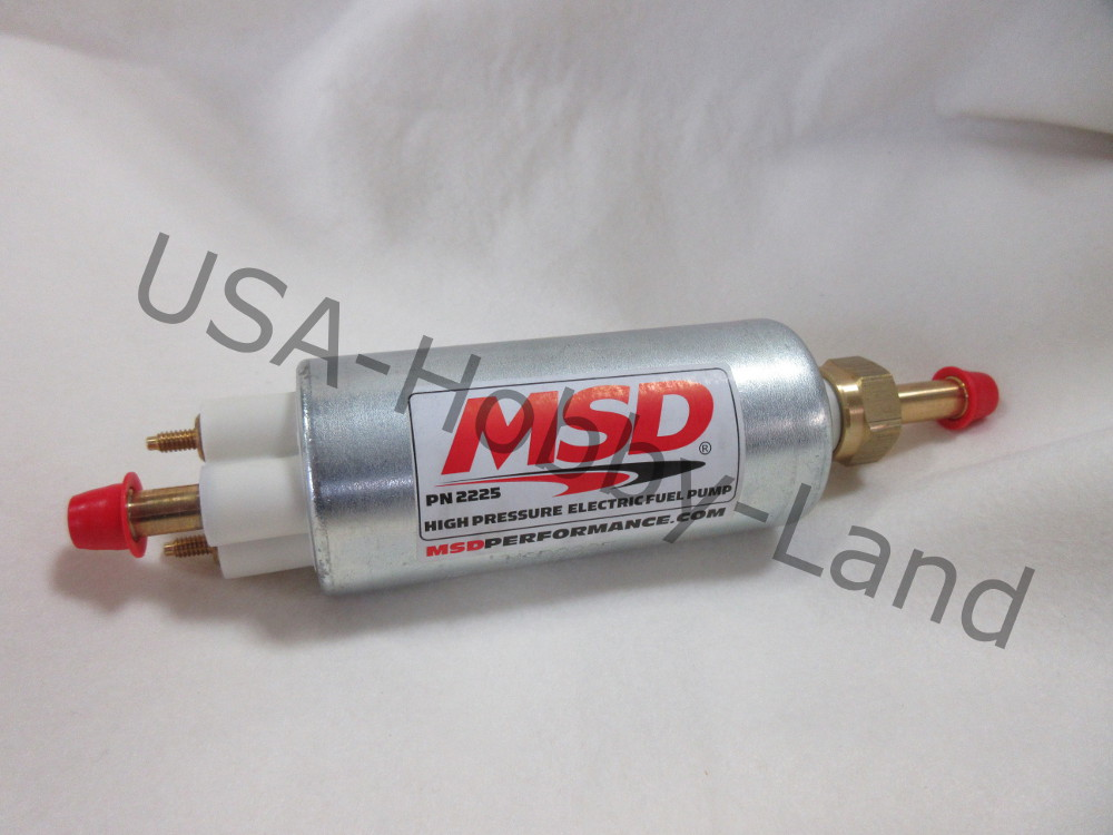 MSD 2225 インジェクション車用 外付け フューエルポンプ 燃料ポンプ