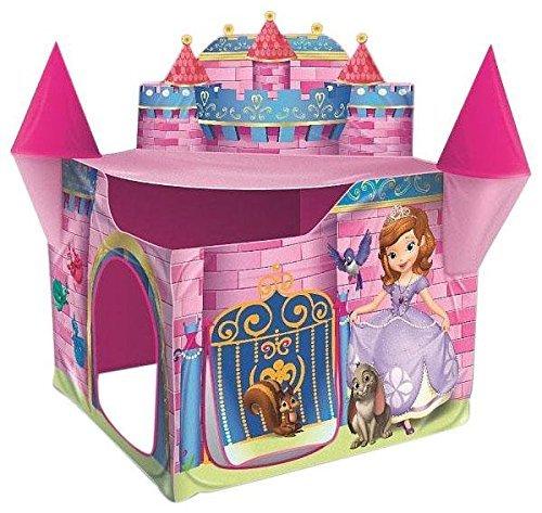 プレイハット ちいさなプリンセス ソフィア キャッスル テント ディズニープリンセス