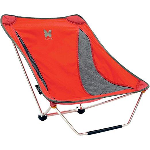 alite Mayfly Chair エーライト メイフライチェア 折りたたみ椅子 レッド