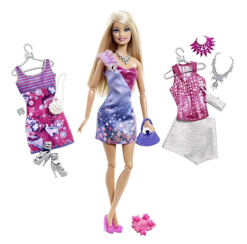 Barbie Fashionistas Doll Ultimate Wardrobe バービー ファッショ二スタ アルティメット ワードローブ X2269