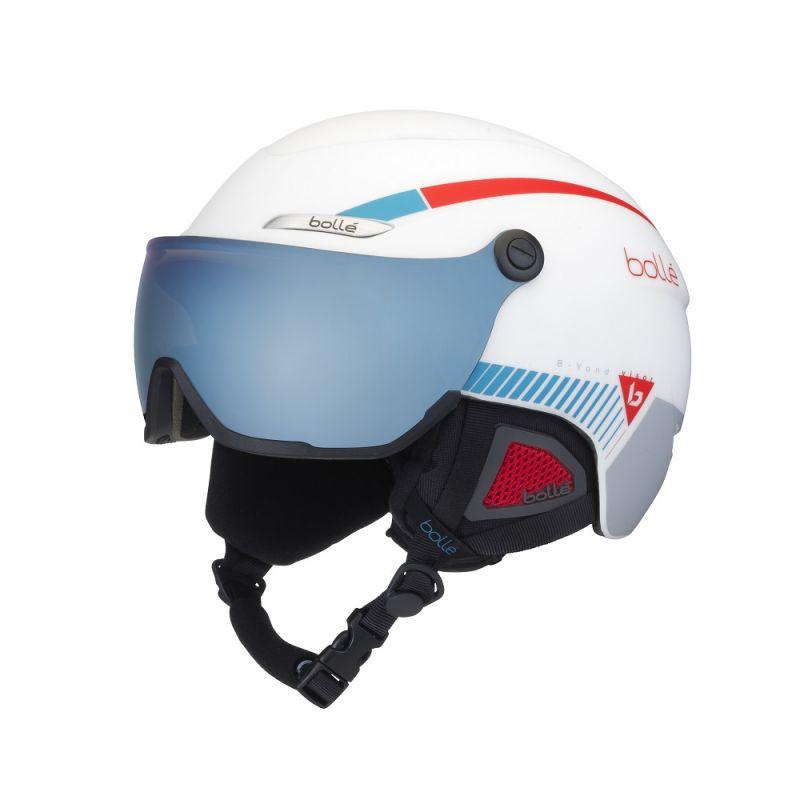 bolle B-YOND VISOR バイザー付ヘルメット ホワイト 58-61cm Lサイズ