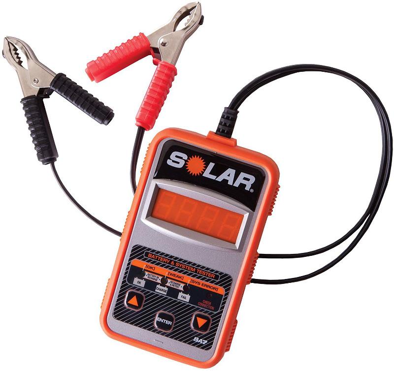 オートモーティブ SOLAR BA7 CCA バッテリーテスター