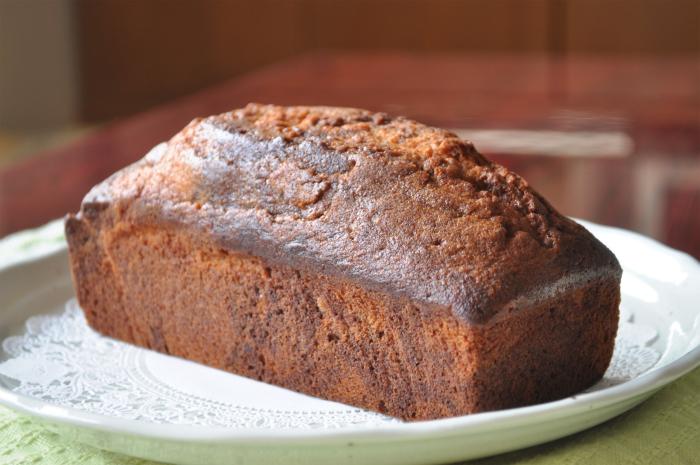 チョコレート マーブル パウンドケーキ濃厚チョコが薫る手作りケーキ(誕生日 プレゼント 母の日 父の日 ギフト 贈り物に喜ばれる スイーツ)【RCP】チョコレートケーキはお父さんに大好評でした!