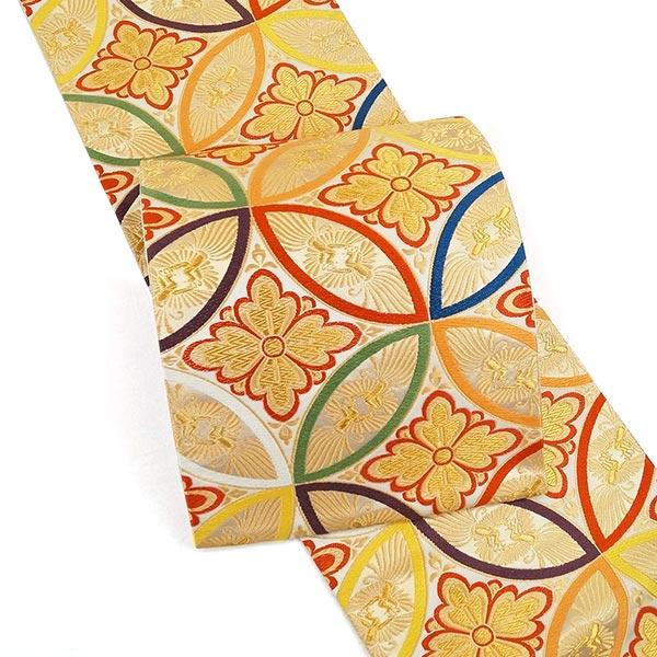 河合美術織物 西陣唐織袋帯 fo-360 仕立代込み 振袖 訪問着