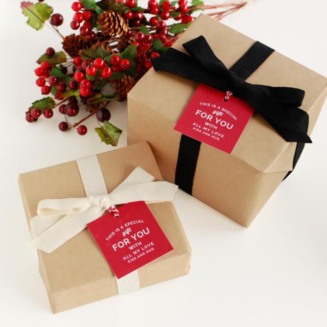プレゼント  包装 ラッピング メッセージカード付 お歳暮 クリスマス 誕生日