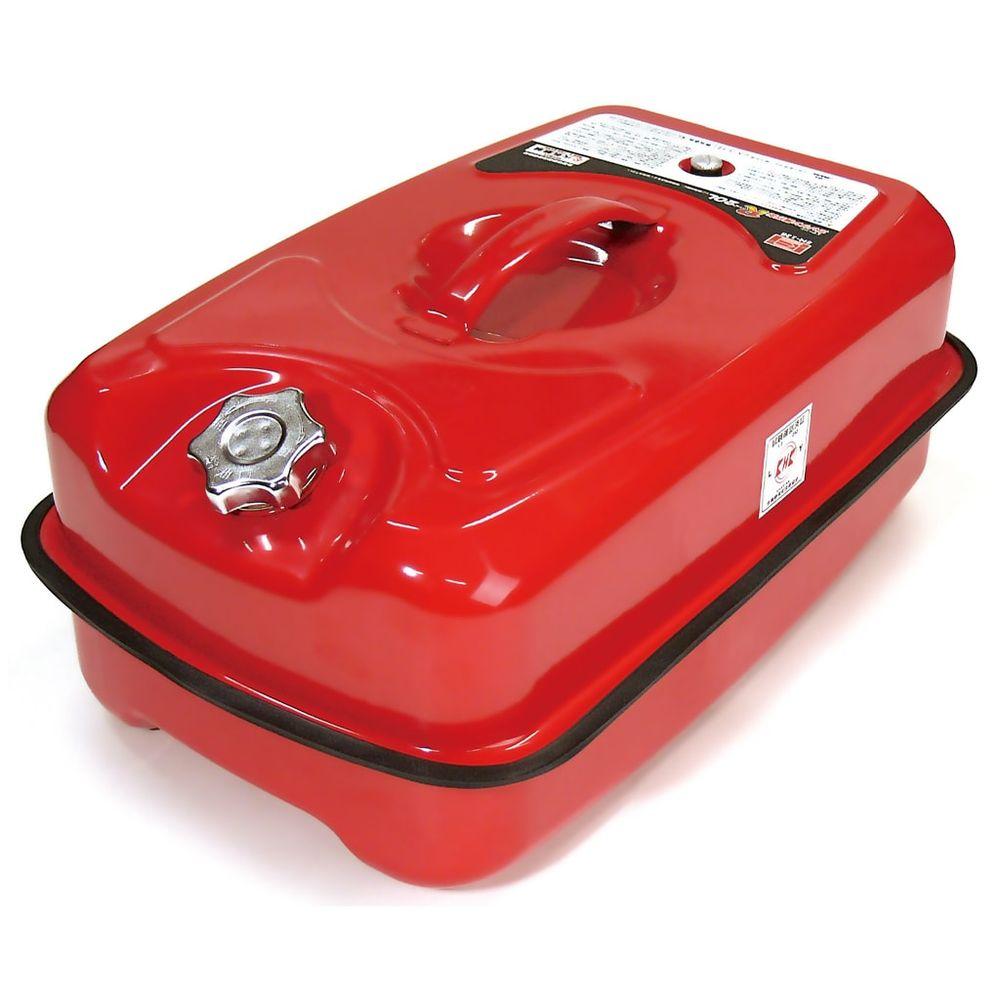 ガソリン携行缶 ガソリンタンク 送料無料 流行 縦型グリップで注ぎやすくて積み重ねられるから保管力バツグン ガソリン携行缶R エマーソン EM-128 20L 今だけ限定15%OFFクーポン発行中
