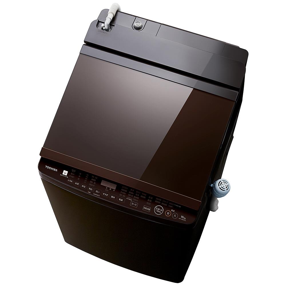 定番 【送料無料】東芝 縦型洗濯乾燥機 ZABOON(ザブーン) 洗濯10.0kg/乾燥5.0kg グレインブラウン AW-10SV9-T, エンジェルズ ダスト:c641523f --- askamore.com