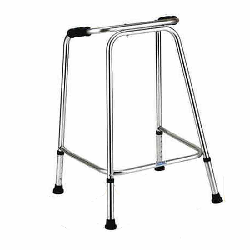 歩行器 アルミ製 Uライン ウォーカー 軽量 AL-120 グリップ 歩行補助 リハビリ クリスタル産業 代引不可