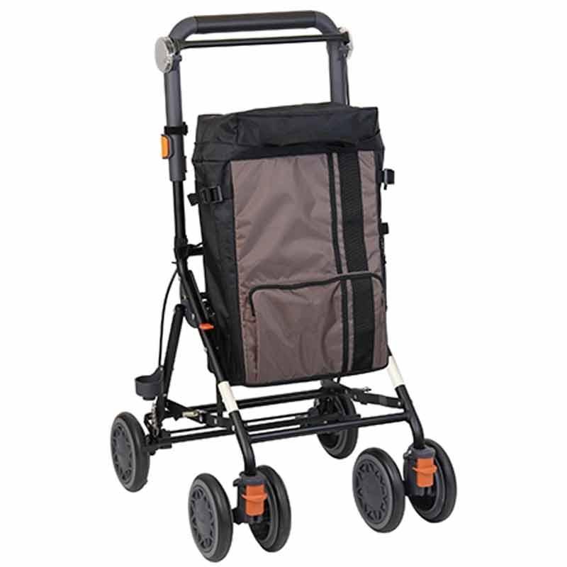 シルバーカー 歩行 補助 カート デイリートロリー ミドルタイプ SLM09 高齢者 幸和製作所 金TD