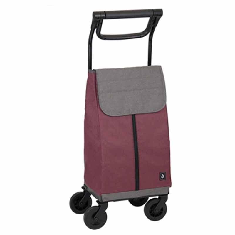 シルバーカー 歩行 補助 カート Aカート WCC09 レッド ステッキカート 高齢者 いつでも座れる 幸和製作所 金TD