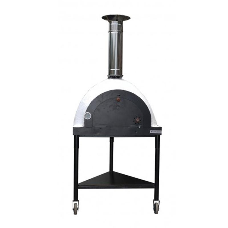 [北海道・沖縄・離島配送不可] ピザ窯ロイヤルモービル Royal Mobike 薪窯オーブン PO2480 135cm(H)×78cm(W)×78cm(D) 五層仕様 岡植 [送料無料][代引不可]