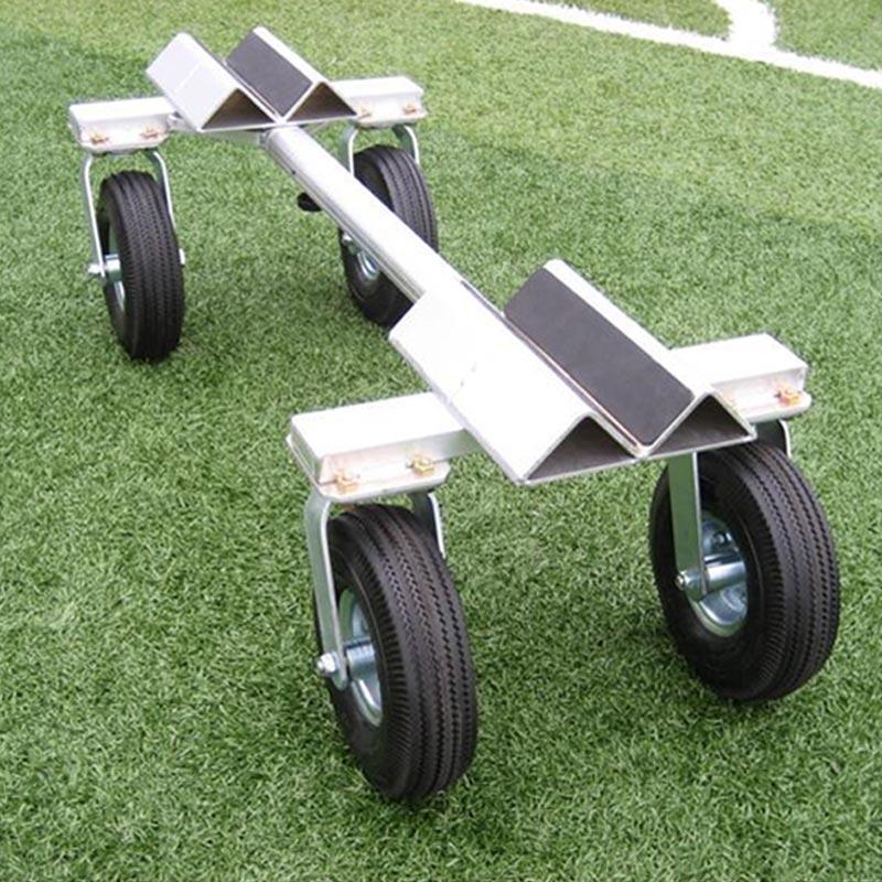 サッカーゴール運搬車 セット サッカー ゴール ジュニアサッカーゴール 運搬 天然芝 人工芝 対応 アルミニウム ミツル 送料無料 代引不可 個人宅配送不可