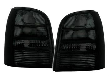 アウディ テールライト taillights set in black finish for Audi A4 B5 AVANT Kombi TAIL LIGHTS 95-01 アウディA4 B5 AVANTコンビのテールライト用のブラック仕上げで設定したテールライト95から01