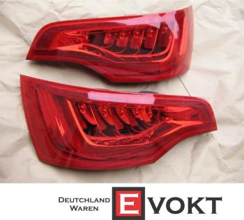 アウディ テールライト Audi Q7 Tail Lights Taillights LED GENUINE NEW アウディQ7のテールライトテールライトは、本物の新しいLEDの