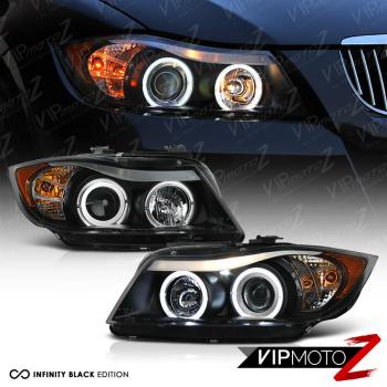 <title>☆送料無料☆USパーツ 海外メーカー輸入品 BMW ヘッドライト 2006 送料無料でお届けします 2007 2008 E90 3-Series Sedan Black Angel Eye Projector Headlights PAIR 3シリーズセダンブラックエンジェルアイプロジェクターヘッドライトPAIR</title>