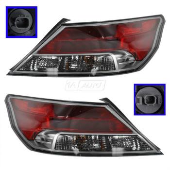 希少 黒入荷! ホンダ Acura アキュラ テールライト Taillights Taillamps Brake Tail Lights Left & Right Pair Set for 09-11 Acura TL 09-11アキュラTL用テールランプテールランプブレーキテールライト左右ペアセット, 中之島町 1c0861b1