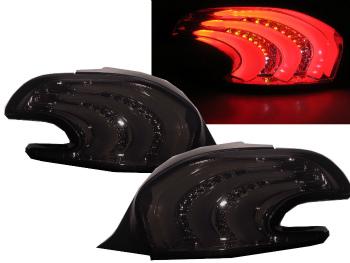 ☆送料無料☆USパーツ 海外メーカー輸入品 プジョー テールライト 208 ハイクオリティ 2013-present Hatchback 3D 5D LED PEUGEOT Rear 2013-存在ハッチバック3D Smoke 超特価 LEDテールリアライトスモーク Tail PEUGEOTのための208 for Light