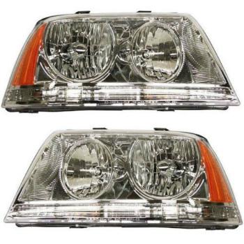 フォード リンカーン ヘッドライト New Head Lamp Assembly HID Set of 2 Left Right Side Fits Lincoln Aviator 2左右サイドの新しいヘッドランプアセンブリHIDセットリンカーンアビエーターに適合します