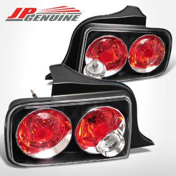 フォード マスタング テールライト ALTEZZA STYLE TAIL LIGHTS BLACK - FORD MUSTANG 05-09 BLACKアルテッツァスタイルのテールランプ - FORD MUSTANG 05-09