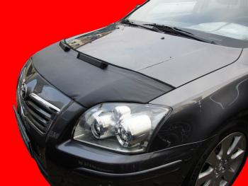 トヨタ Avensis ノーズブラ Toyota Avensis T25 2003-2009 CUSTOM CAR HOOD BRA NOSE FRONT END MASK トヨタアベンシスT25 2003から2009 CUSTOM CAR HOOD BRA NOSEフロントエンドのMASK