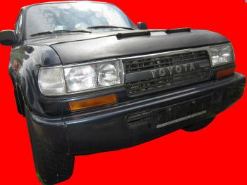 トヨタ ランドクルーザー ノーズブラ BRA Toyota LAND CRUISER J8 1990-1997 CUSTOM CAR HOOD BRA FRONT MASK BRAトヨタランドクルーザーJ8 1990年から1997年CUSTOM CAR HOOD BRAフロントマスク