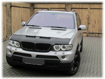 BMW ノーズブラ BMW X5 E53 1994-2006 CUSTOM CAR HOOD BRA NOSE FRONT END MASK BMW X5 E53 1994年から2006年CUSTOM CAR HOOD BRA NOSEフロントエンドのMASK
