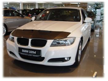 BMW ノーズブラ BMW 3 E90 E91 E92 E93 2009-2013 CUSTOM CAR HOOD BRA NOSE FRONT END MASK BMW 3 E90 E91 E92 E93 2009年から2013年CUSTOM CAR HOOD BRA NOSEフロントエンドのMASK