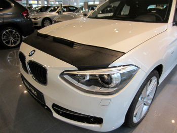 BMW ノーズブラ BMW 1 F20 since 2011 CUSTOM CAR HOOD BRA NOSE FRONT END MASK BMW 1 F20 2011年以来のCUSTOM CAR HOOD BRA NOSEフロントエンドのMASK
