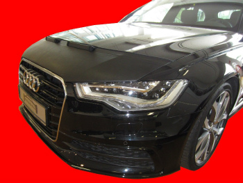 アウディ ノーズブラ AUDI A6 C7 4G 2011-present CUSTOM CAR HOOD BRA NOSE FRONT END MASK. アウディA6 C7 4G 2011-存在CUSTOM CAR HOOD BRA NOSEフロントエンドマスク。