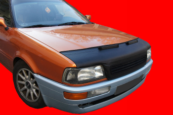 アウディ ノーズブラ AUDI 80 B4 1991-1995 CUSTOM CAR HOOD BRA NOSE FRONT END MASK アウディ80 B4 1991から1995年CUSTOM CAR HOOD BRA NOSEフロントエンドMASK
