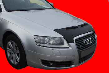 アウディ ノーズブラ AUDI A6 C6 2004-2011 CUSTOM CAR HOOD BRA NOSE FRONT END MASK アウディA6 C6 2004年から2011年CUSTOM CAR HOOD BRA NOSEフロントエンドのMASK