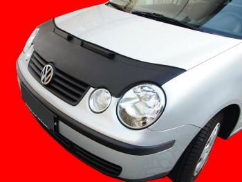 フォルクスワーゲン ノーズブラ Volkswagen Polo 9N 2002-2005 CUSTOM CAR HOOD BRA NOSE FRONT END MASK2 フォルクスワーゲンポロ9N 2002年から2005年CUSTOM CAR HOOD BRA NOSEフロントエンドMASK2