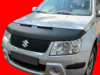 スズキ Grand Vitara ノーズブラ Suzuki Grand Vitara 2005- CUSTOM CAR HOOD BRA NOSE FRONT END MASK スズキエスクード2005- CUSTOM CAR HOOD BRA NOSEフロントエンドのMASK