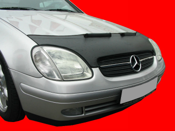 ベンツ ノーズブラ Mercedes Benz SLK R170 1996-2004 CUSTOM CAR HOOD BRA NOSE FRONT END MASK メルセデス・ベンツSLK R170 1996年から2004年CUSTOM CAR HOOD BRA NOSEフロントエンドのMASK